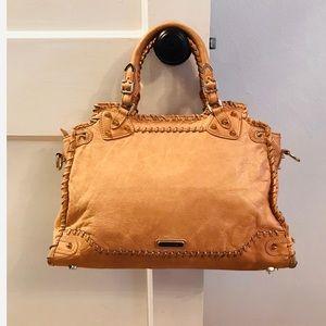 Rebecca Minkoff Camel Satchel Handbag Purse
